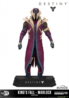 Destiny Action Figure Warlock (Kings Fall) 18cm