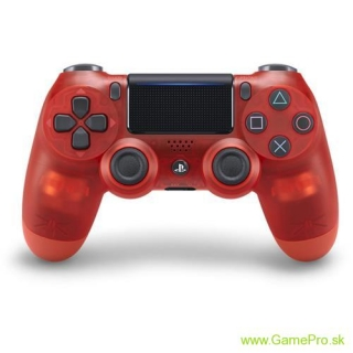 Sony PS4 Dual Shock 4 V2 (Translucent Red)