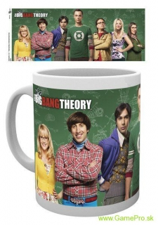 Big Bang Theory hrnček Cast