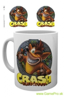 Crash Bandicoot hrnček Crash