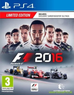 Formula 1 2016 (Limited Edition) (PS4)