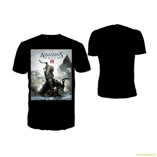 Assassins Creed 3 - Game Cover (T-Shirt)