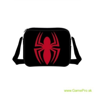 Spiderman - Red Logo Messenger Bag