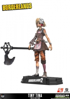 Borderlands 2 Color Tops Action Figure Tiny Tina 18 cm