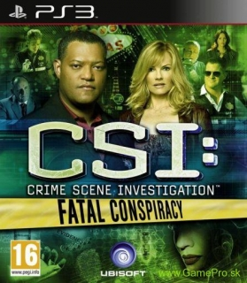 CSI - Fatal Conspiracy (PS3)