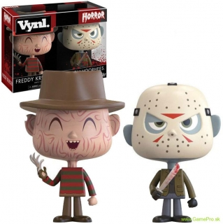 Freddy vs. Jason VYNL - Vinyl Horor Figures 2 pack 10 cm