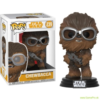 Pop! Star Wars - Chewbacca with Goggles (Bobble Head)