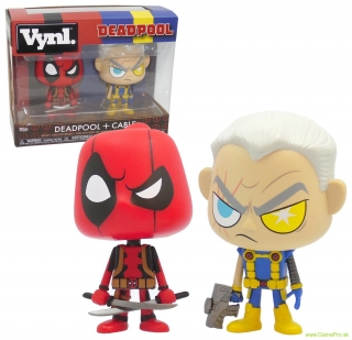 Deadpool and Cable VYNL - Vinyl Deadpool Figures 2 pack 10 cm