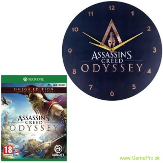 Assassins Creed - Odyssey CZ (Omega Edition) + hodiny (XBOX ONE)
