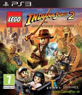 LEGO Indiana Jones 2 - The Adventure Continues (PS3)