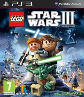LEGO Star Wars III - Clone Wars (PS3)