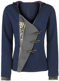Dishonored 2 Hoodie - Emily Empress Girls Hooded Zip Dark