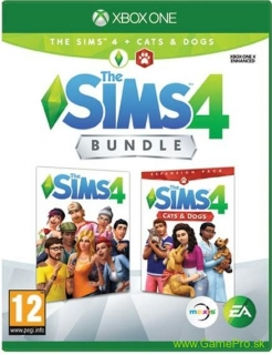Sims 4 + Sims 4 Cats and Dogs (XBOX ONE)