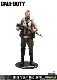 Call of Duty Action Figure John Soap MacTavish 15 cm