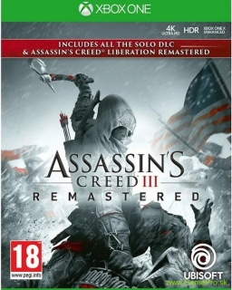 Assassins Creed 3 and Assassins Creed: Liberation (XBOX ONE)