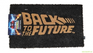 Back to the Future rohožka - Logo 43 x 72 cm