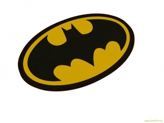DC Comics rohožka - Batman Logo Oval-Shaped 43 x 72 cm