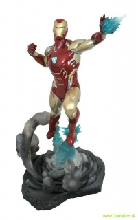 Avengers Endgame Marvel Movie Gallery PVC Diorama Iron Man MK85 23 cm