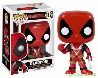 Pop! Marvel - Deadpool Thumb Up (Bobble-Head)