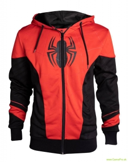 SpiderMan mikina Red and Black Outfit
