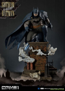 Batman Arkham Origins 1/5 socha Gotham By Gaslight Batman Blue Version 57 cm