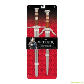 Witcher Foam Sword 2-Pack 1/1 Steel and Silver