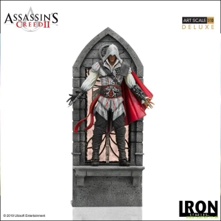 Assassins Creed II Art Scale socha 1/10 Ezio Auditore Deluxe 31 cm