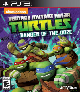 Teenage Mutant Ninja Turtles - Danger of the Ooze (PS3)