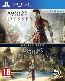 Assassins Creed - Odyssey + Assassins Creed - Origins (PS4)
