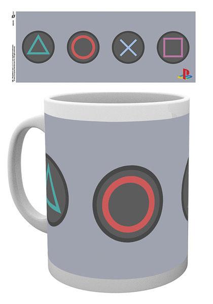 PlayStation hrnček Buttons